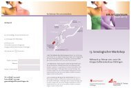 13. Senologischer Workshop - Bvf-saarland.de