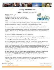 Anatomy of the GEICO Deal - Buffalo Niagara Enterprise