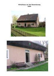 Hirtenhaus vor der Renovierung 2004 - Bvs-waldsassen.de
