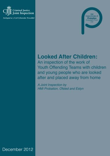 Looked After Children Thematic Report - HMCPSI