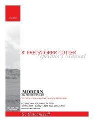 Predator Cutters Manual