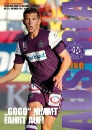 """""""GOGO"""" NIMMT FAHRT AUF! - FK Austria Wien"""