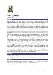 Rett-Syndrom - Maiwald, Dr. Robert Maiwald