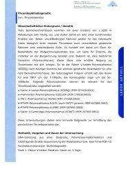 Thrombophilie-Risiko - Maiwald, Dr. Robert Maiwald