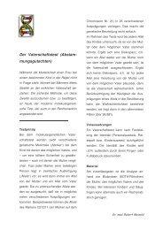 Der Vaterschaftstest (Abstam- mungsgutachten) - Maiwald, Dr ...
