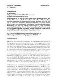 Entwurf eines Gesetzes zur Verankerung der Patientenverfügung im ...