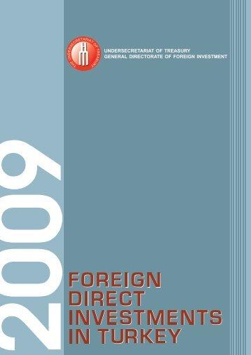 uluslararası doğrudan kapak 2009 - Ministry of Economy