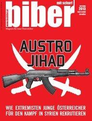 biber Ausgabe Oktober 2013