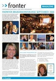 Fronter Magazine, norsk utgave 03 - 2008