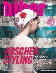 Die biber-Ausgabe vom Sommer 2013.