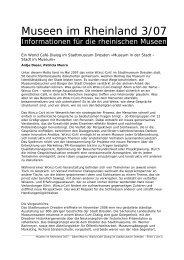 Ein World Café-Dialog im Stadtmuseum Dresden