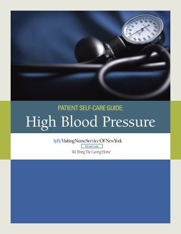 High Blood Pressure - Visiting Nurse Service of New York