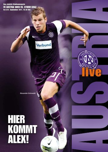 AUSTRIA LIVE 4 2011/12 - Sturm Graz - FK Austria Wien