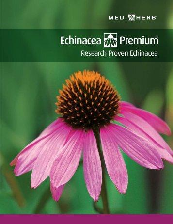 Echinacea - A New Understanding - Handout - Standard Process