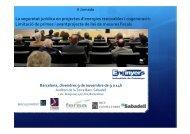 Seguretat jurídica en projectes d - Enginyers Industrials de Catalunya