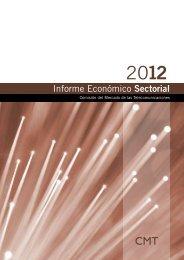 Informe económico sectorial - Comisión del Mercado de las ...