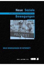Vollversion (2.41 MB) - Forschungsjournal Neue Soziale Bewegungen