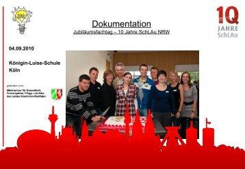 Dokumentation Fachtag 10 - SchLAu NRW