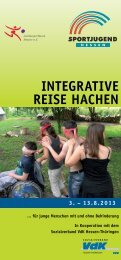 InTegraTIVe reISe HacHen - Gemeinsam leben – gemeinsam lernen