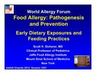 Prevention - World Allergy Organization