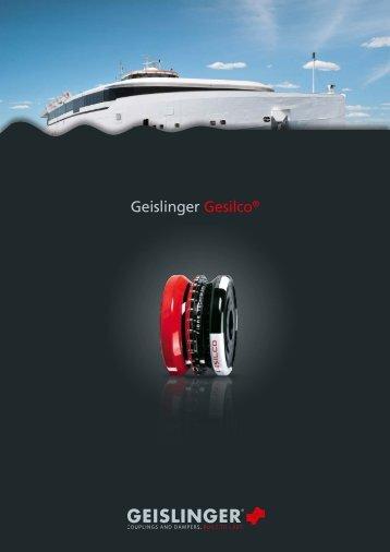 Gesilco catalog - Geislinger