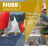 """Wohnen """"Auf der Freiheit"""" in Schleswig ... - Fjord maritim"""