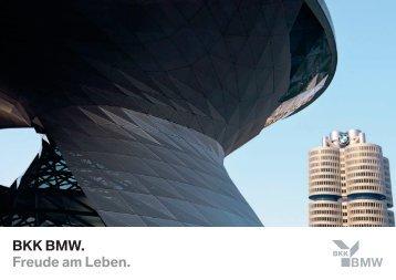 BMW Imagebroschüre 2009-06-B.indd - BMW BKK