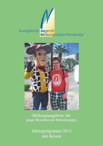 Jahresprogramm 2013 - Evangelische Jugend von Westfalen