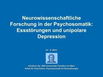 Essstörung und Körperbild - Klinik für Psychiatrie, Psychosomatik ...