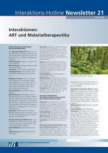 Newsletter 21 Wechselwirkungen: ART und ... - DAHKA e.V.