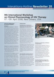 Newsletter 20 9th International Workshop on Clinical Pharmacology ...