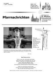 Lennestadt - Pastoralverbund Veischedetal