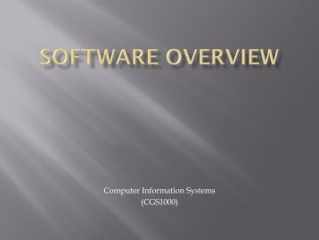 Application Software - Tiona Consulting
