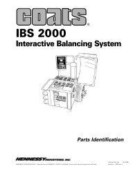 IBS 2000 Interactive Balancing System parts very limited - aesco