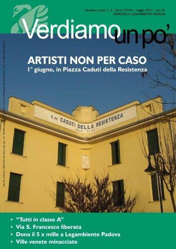 ARTISTI NON PER CASO - Legambiente Padova