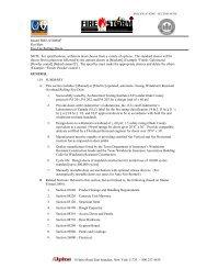 Specifications (PDF) - Alpine Overhead Doors
