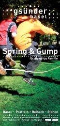 im Sommer mit Spring & Gump