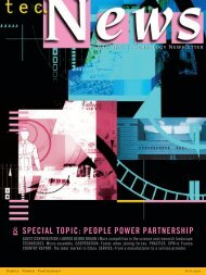 SPECIAL TOPIC: PEOPLE POWER PARTNERSHIP
