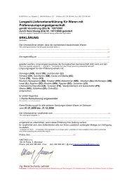 Langzeit-Lieferantenerklärung für Waren mit ... - Harting