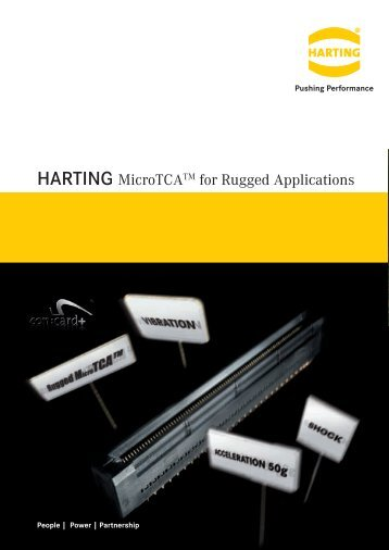 HARTING MicroTCATM for Rugged Applications