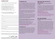 den Anmelde-Flyer für den Jugendclub mit allen Infos als PDF ...