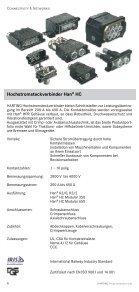 harting Programmübersicht - HARTING Technologiegruppe - Seite 6