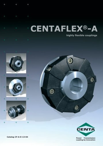 CENTAFLEX®-A - CENTA Power Transmission - Sweden