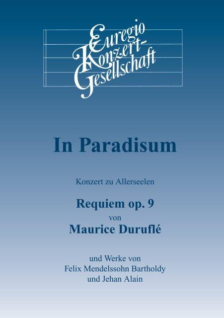 In Paradisum