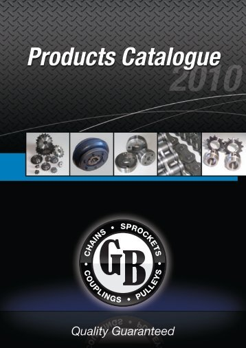 GB All Products Catalogue - Chain and Drives Australia