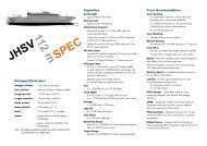 JHSV 112 m SPEC - Incat