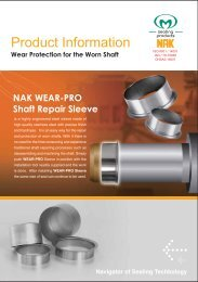 Wear-Pro Shaft Repair Sleeve - Chain and Drives Australia
