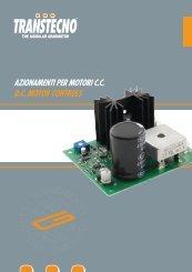 azionamenti per motori ccdc motor controls - Chain and Drives ...