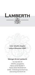 Weinpreisliste November 2009:Weinpreisliste 2005 - weingut ...