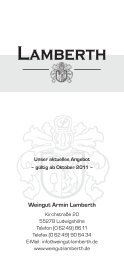 Weinpreisliste 2011 Oktober.qxp:. - weingut : lamberth